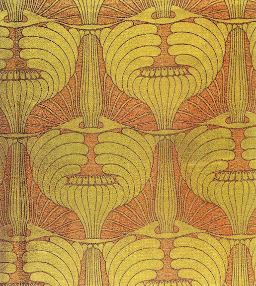 Koloman Moser - Fabric design