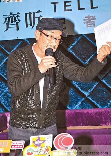 劉俊輝昨日在記招表現勞氣。