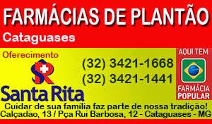 Farmácias de plantão em Cataguases