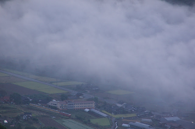 雲海と芸備線