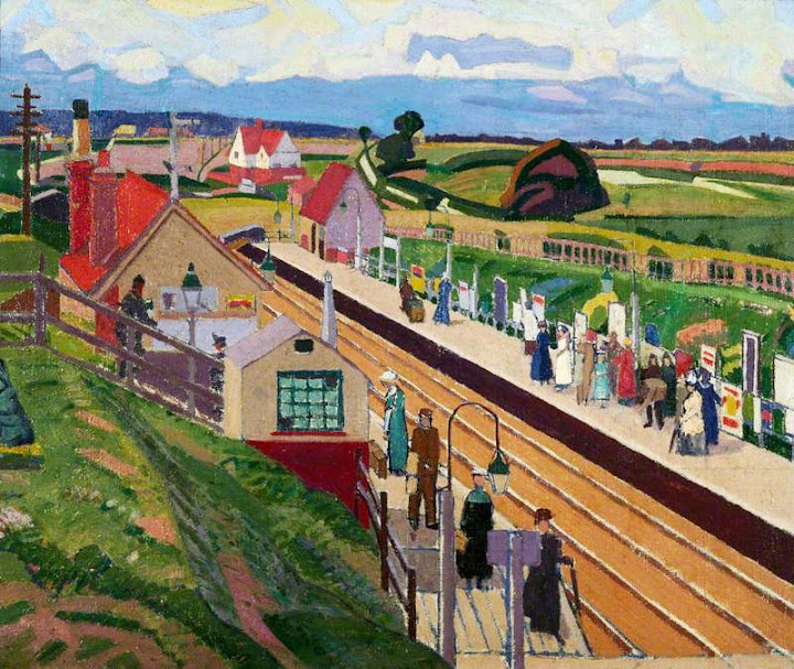 Spencer Gore - Letchworth Station