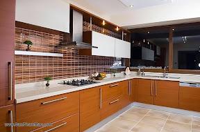 Tủ bếp MFC đẹp