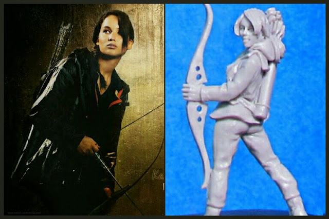 Katniss Heresy Miniatures