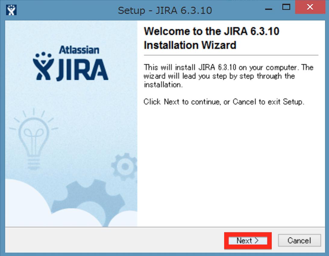 JIRA Install 01