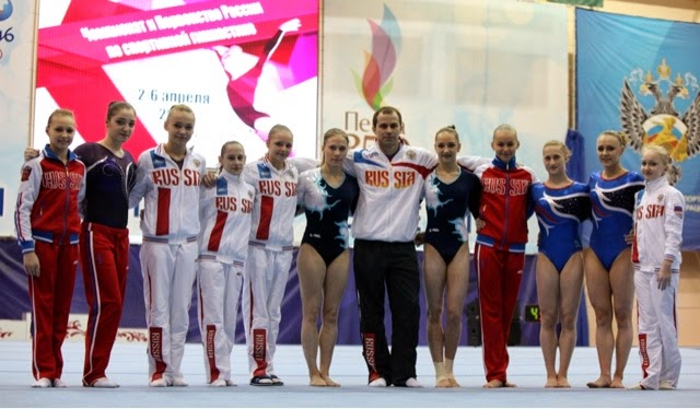 Rewriting Russian Gymnastics