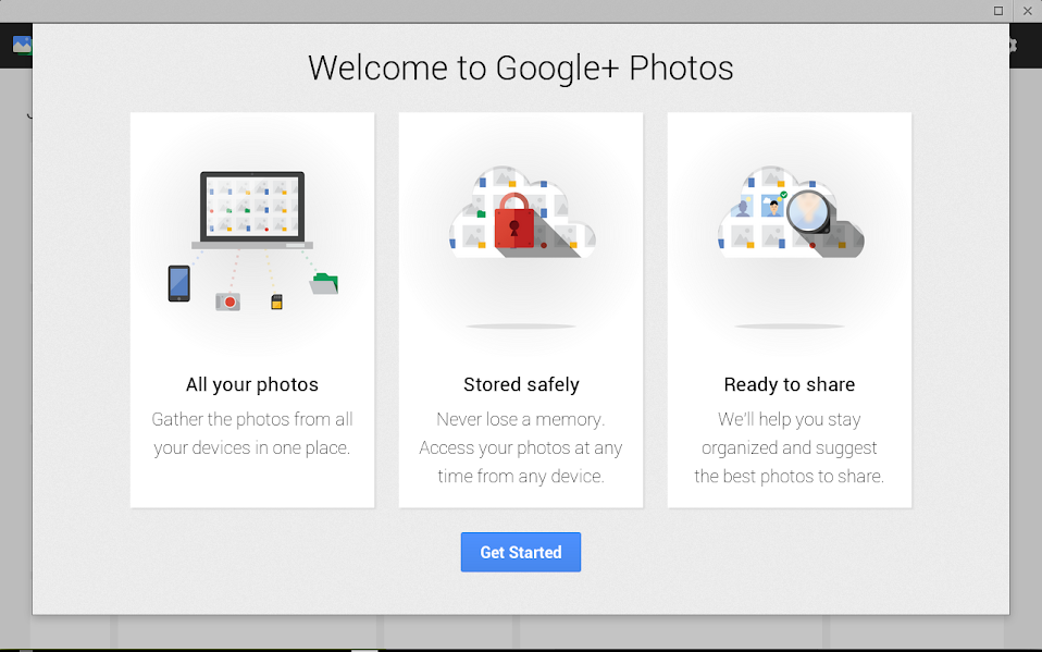 Google+ Photos App