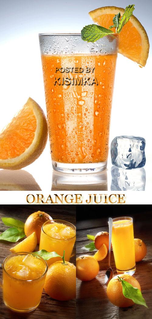 Stock Photo: Orange juice 5