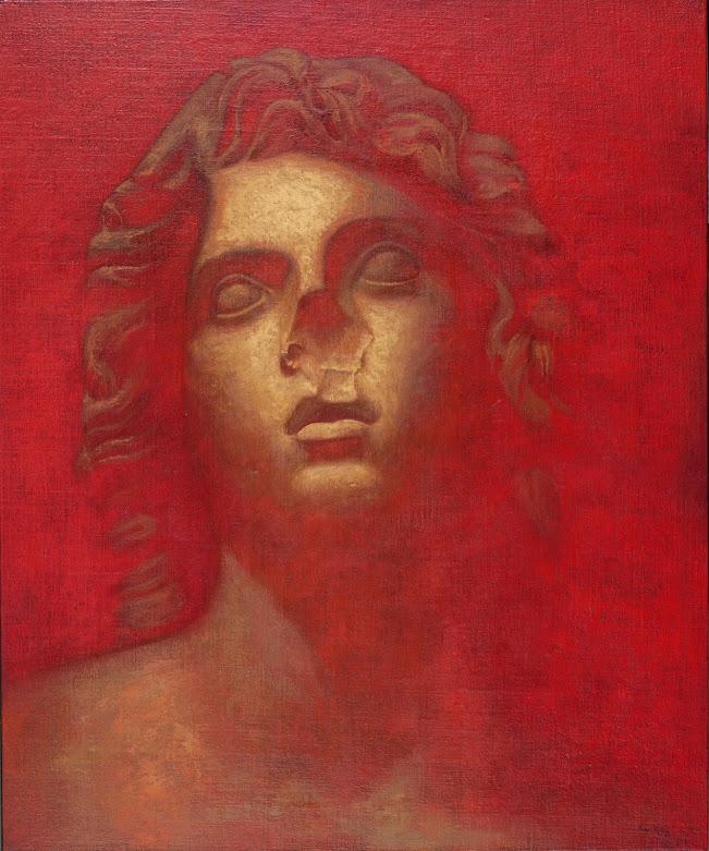 Pintura rostro de Álvarez Cebrián