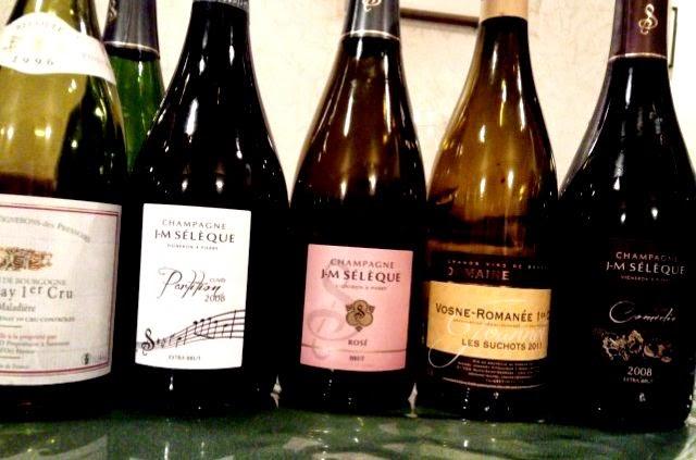 セレックのシャンパンとブルゴーニュワイン