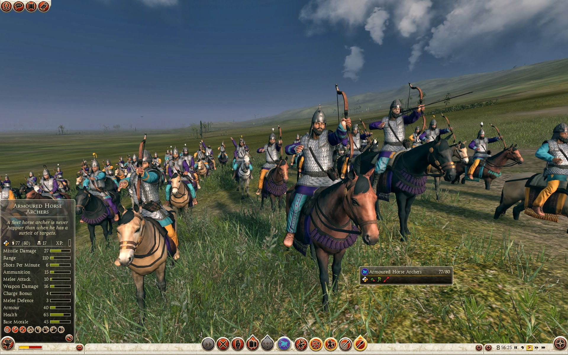 Armoured Horse Archers Parthia Total War Rome Ii