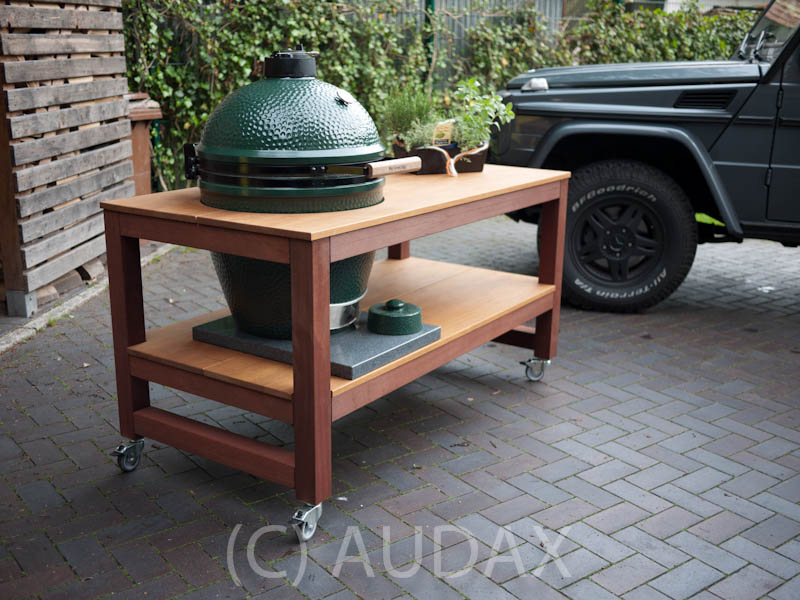 ein neuer eggtisch viele bilder fertig das forum zum grillen barbecue und. Black Bedroom Furniture Sets. Home Design Ideas