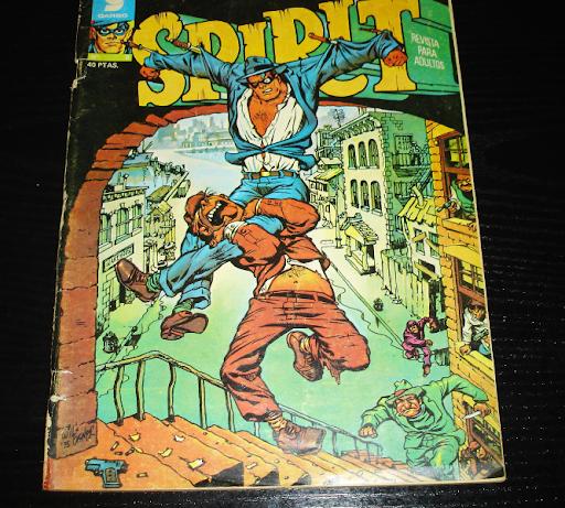 SPIRIT nº 9-comic- año 1976-Garbo