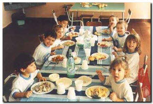 Becas de comedor escolar