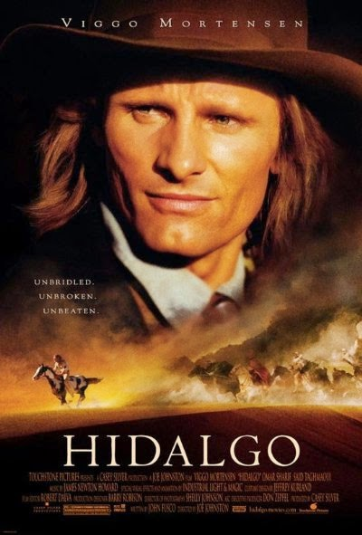 Poster Of Hidalgo (2004) Full Movie Hindi Dubbed Free Download Watch Online At Alldownloads4u.Com