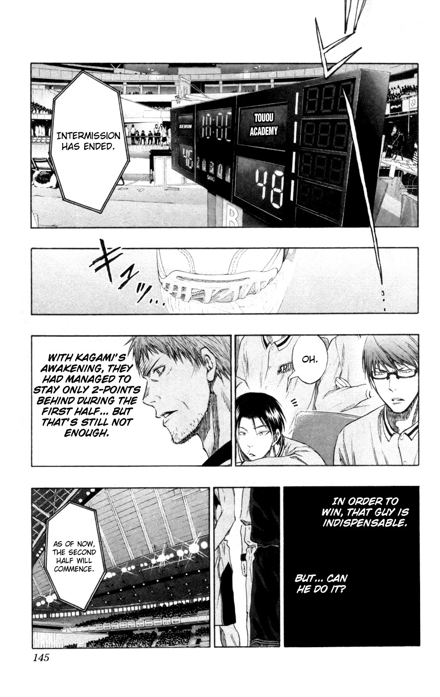 Kuroko no Basket Manga Chapter 125 - Image 01