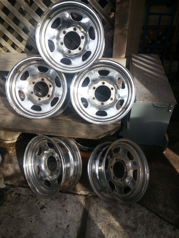 For Sale - [Bay Area, CA] 5 Stock Chrome Steel Wheels from ...