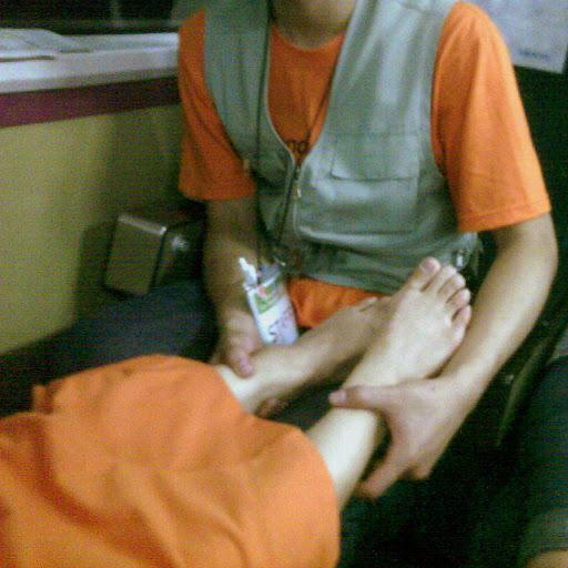 crazy accupuncture feet