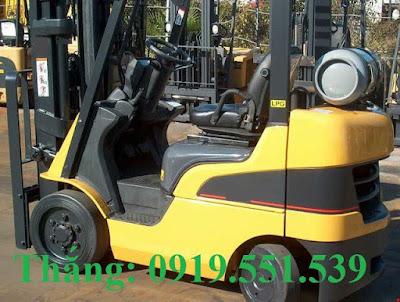 Xe nâng xăng gas 1.5 - 3.5 tấn