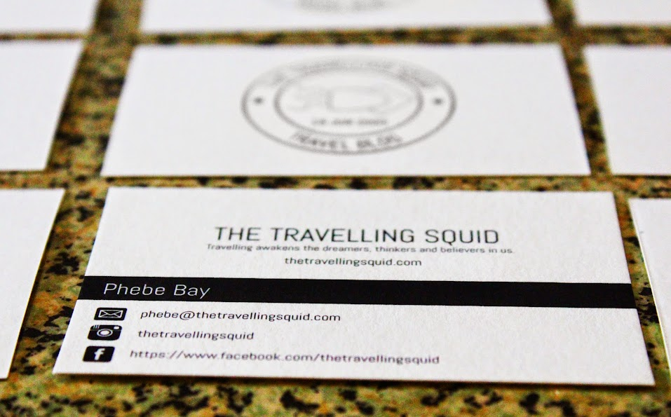 The Travelling Squid namecard