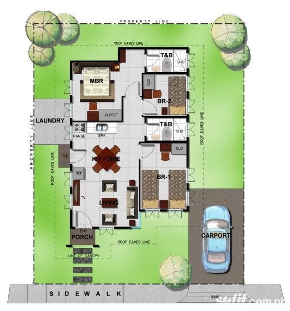 Bambu Estate Yumi Floor Plan