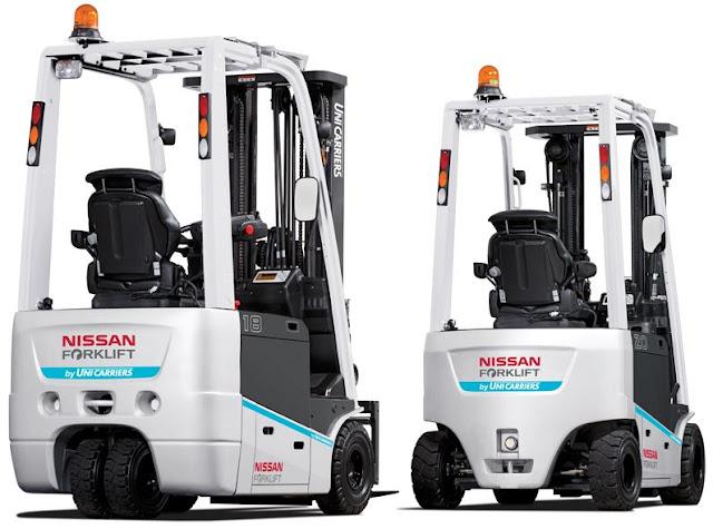 Xe nâng điện Nissan Nhật Bản