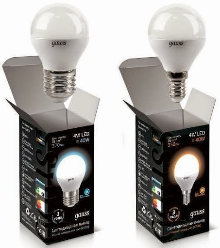 Svetodiodnye lampy 4W_E14_E27_shar_Gauss