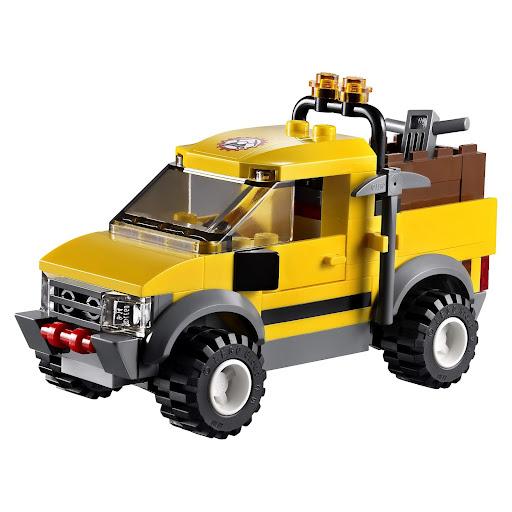 レゴ シティ ゴールドマイナー 4WDダイナマイトキャリア 4200