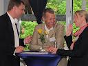 Gespräche beim Jahresempfang 2012 der Stiftung Gesundheit
