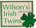 Wilson's (almost) Irish Twins