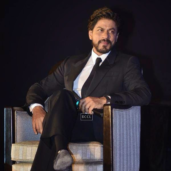 Shah Rukh Khan during the launch of Leading Jewellers of the world presents Ticket to Bollywood by Gitanjali Gems Pvt Ltd in Mumbai. (Pic: Viral Bhayani)