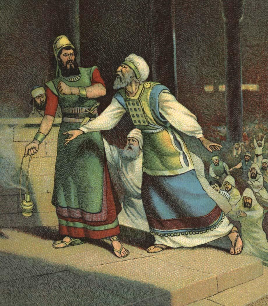 Bible Stories King Uzziah   Bible Vector - 10 Full ...