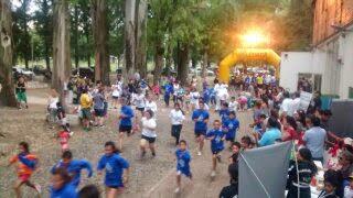 La maratón alcanzó a terminar antes de la lluvia