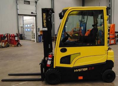 Xe nâng điện 1.8 tấn Hyster J1.8XN (MWB) (LWM)