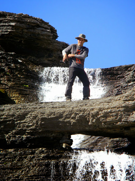 Mike On Waterfall