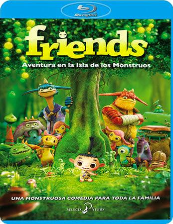 Friends. Aventura en la isla de los monstruos [BDRip 1080p][Multi AC3][Subs][Animaci�n][2011]