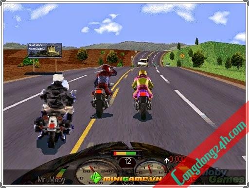 Download game RoadRash Full,Game đua xe thời thơ ấu