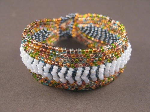 Spring Rain Bracelet with Copper-lined Earth Mix