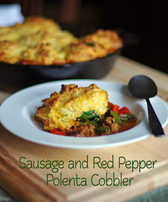 Cookbook review - Savory Pies by Greg Henry and Sausage and Red Pepper Polenta Recipe