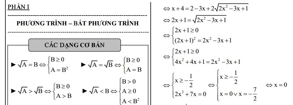phuong trinh