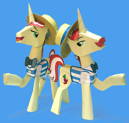 Flim Flam Brothers Papercraft