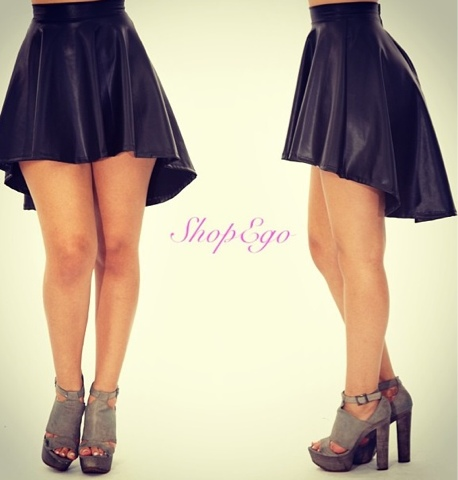 shop ego fashion daily meagan high low skater skirt