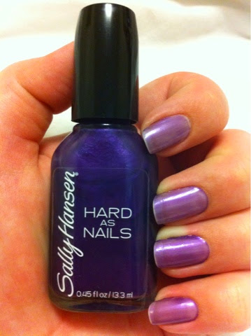 Writing My Story: Review: Sally Hansen Hard As Nails Nail Polish