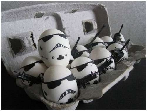 How to tell when the eggs have gone bad...