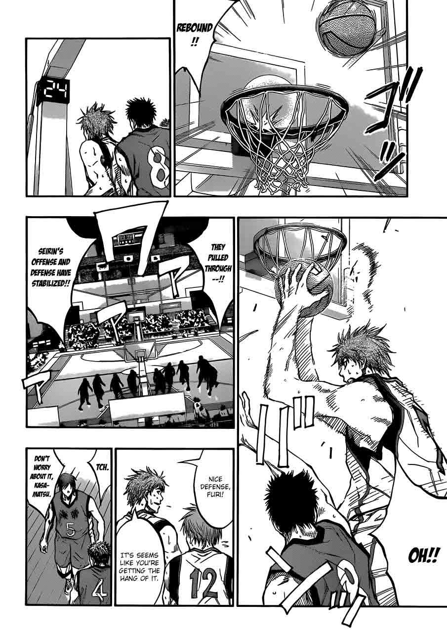 Kuroko no Basket Manga Chapter 187 - Image 12