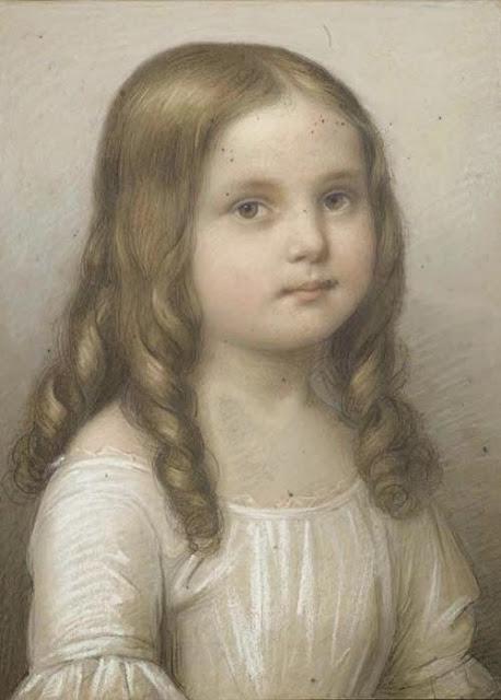 Marie Ellenrieder - Portrait eines Mädchens