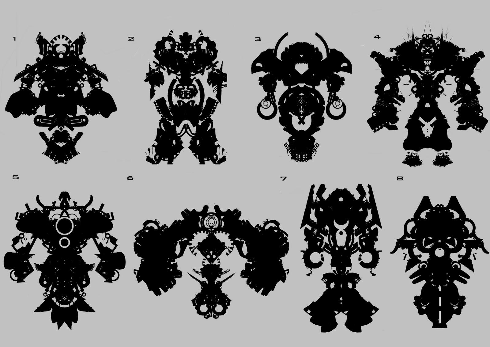 Alphaomega Alchemy Aztec Silhouette Shapes