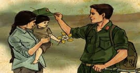 Thơ tình buồn người Lính