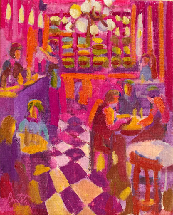 José Bautista,Pintor,José Bautista Pintor,Pintura,Pinturas de José Bautista,José Bautista pintura,Chocolate a la taza