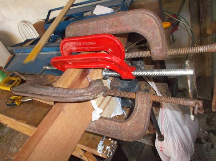 Construção inspirada Les Paul Custom, meu 1º projeto com braço colado (finalizado e com áudio) DSCF0461