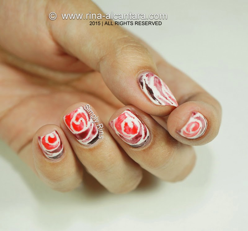 Valentine's Nail Art: Love Never Fades